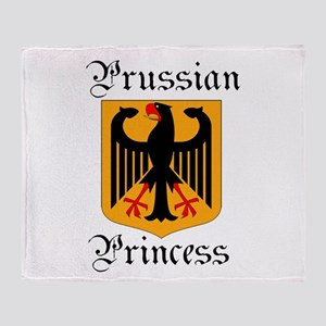 Prussian Princess Throw Blanket