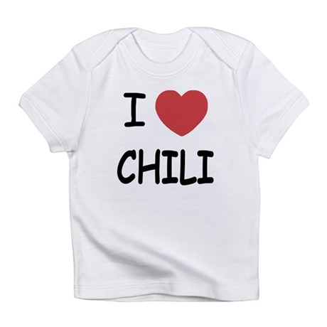 I heart chili Infant T-Shirt