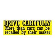Drive Carefully Wall Decal