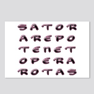 SATOR Square Postcards (Package of 8)