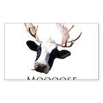 Moooose Sticker (Rectangle 50 pk)