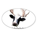 Moooose Sticker (Oval 50 pk)
