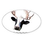 Moooose Sticker (Oval 10 pk)