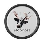Moooose Large Wall Clock