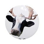 Moooose Ornament (Round)