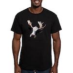Moooose Men's Fitted T-Shirt (dark)