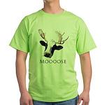 Moooose Green T-Shirt