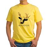 Moooose Yellow T-Shirt