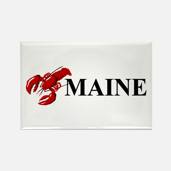 Maine Lobster Rectangle Magnet