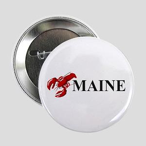 "Maine Lobster 2.25"" Button"