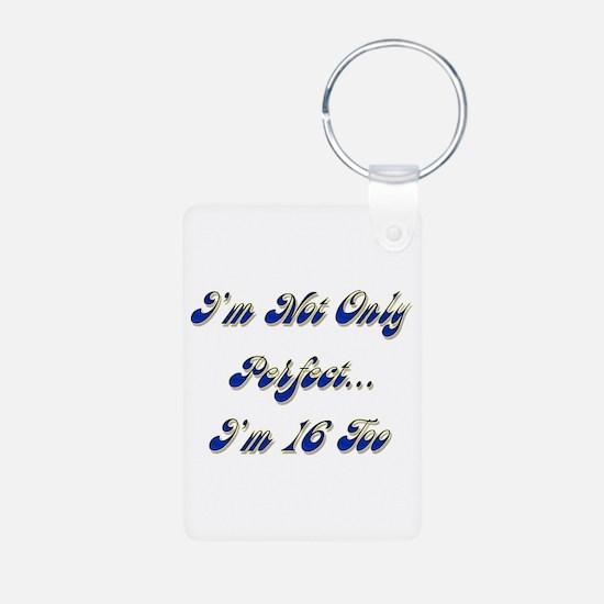 Cute Turning 16 Keychains