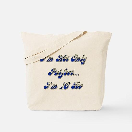 Cute 16 years old Tote Bag