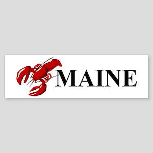 Maine Lobster Sticker (Bumper)