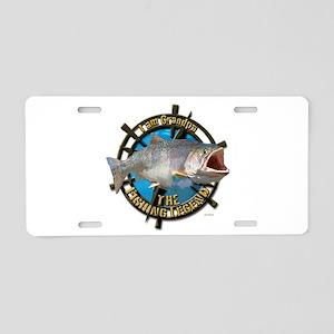 Grandpa legend Aluminum License Plate