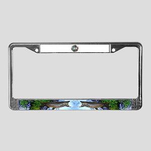 Grandpa legend License Plate Frame
