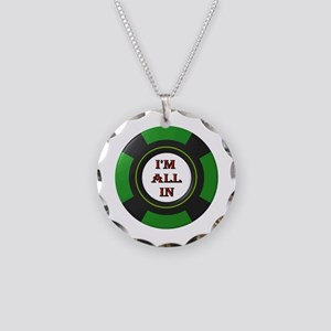 MY LUCKY DAY Necklace Circle Charm