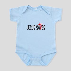 Jesus Saves Infant Bodysuit