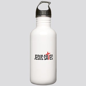 Jesus Saves Stainless Water Bottle 1.0L