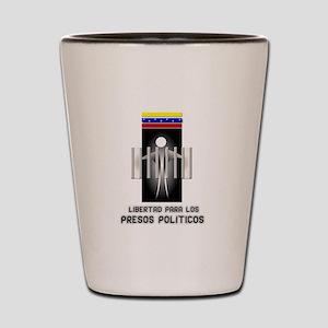 Freedom for Political Prisone Shot Glass