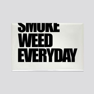 Smoke Weed Everyday Rectangle Magnet
