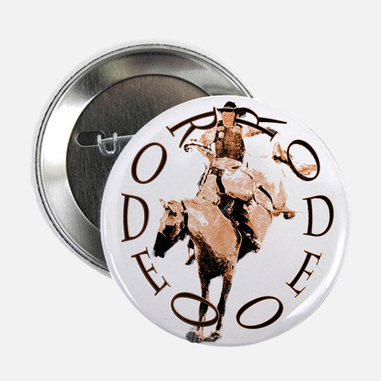"RODEO BRONC 2.25"" Button"