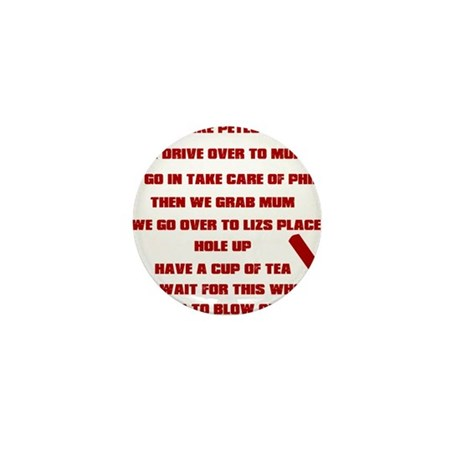 Shaun of the Dead Mini Button (100 pack)