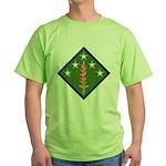 20th SupCom CBRNE Green T-Shirt