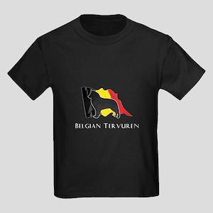 """""""Belgian"""" Tervuren Kids Dark T-Shirt"""