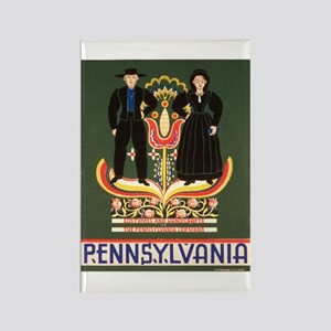 Pennsylvania Dutch Rectangle Magnet