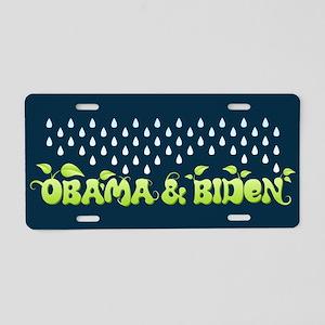 Green Obama Biden Aluminum License Plate