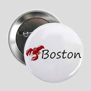 "Boston Lobster 2.25"" Button"