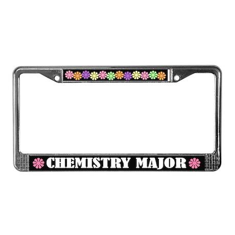 Chemistry Major License Frame
