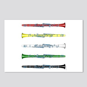 Clarinet Colors Postcards (Package of 8)