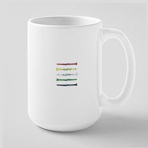 Clarinet Colors Large Mug