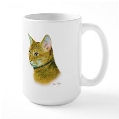 Abyssinian Cat Large Mug