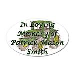 PatrickSmith 38.5 x 24.5 Oval Wall Peel