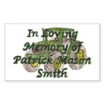 PatrickSmith Sticker (Rectangle 10 pk)