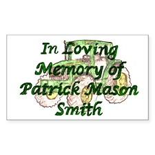 PatrickSmith Sticker (Rectangle)