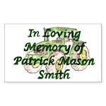 PatrickSmith Sticker (Rectangle 50 pk)
