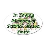 PatrickSmith 22x14 Oval Wall Peel