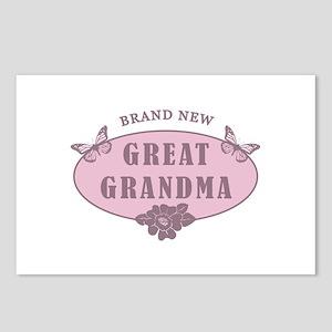 Brand New Great Grandma Postcards (Package of 8)