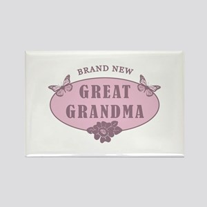 Brand New Great Grandma Rectangle Magnet