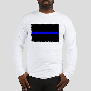 Police Thin Blue Line Long Sleeve T-Shirt