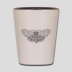 Moonlit Silver Shot Glass