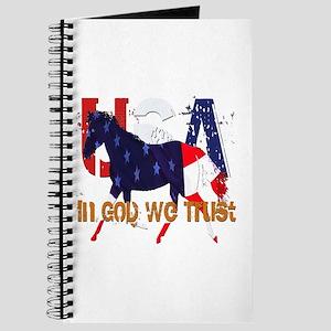 Patriotic Horse Journal