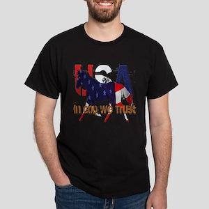Patriotic Horse Dark T-Shirt