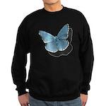 Blue Moth Sweatshirt (dark)