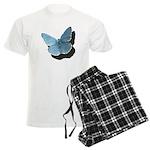 Blue Moth Men's Light Pajamas