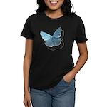 Blue Moth Women's Dark T-Shirt
