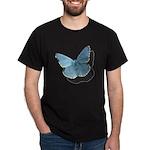 Blue Moth Dark T-Shirt